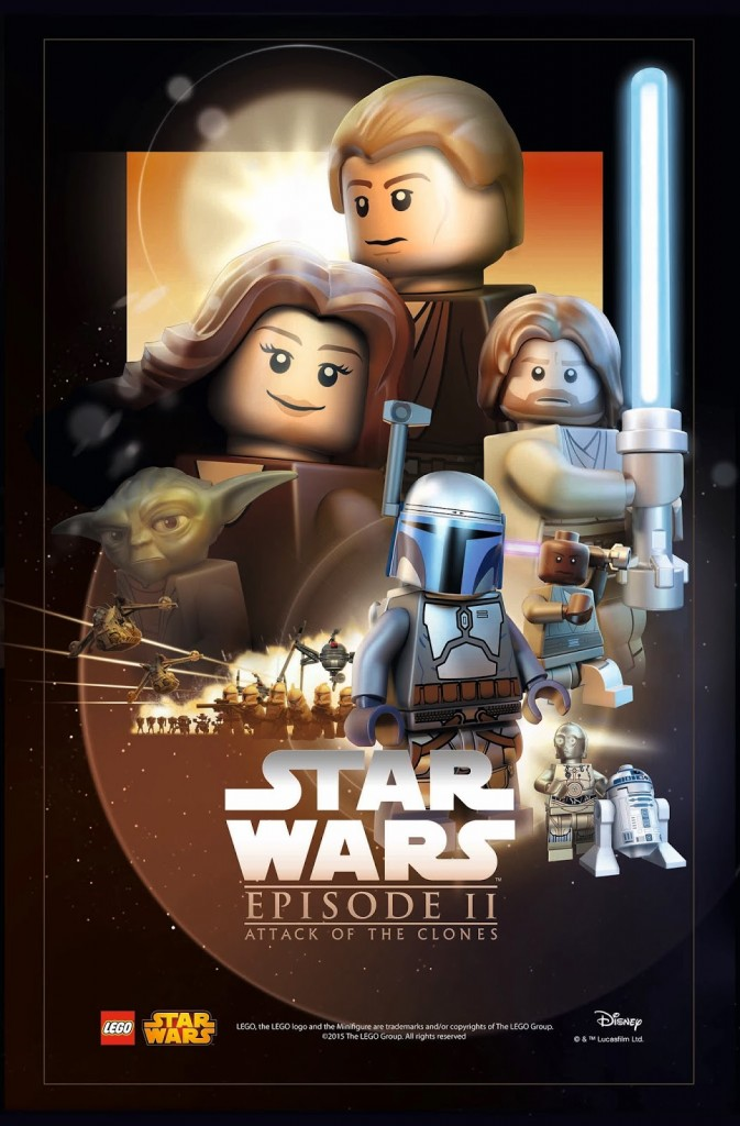 LEGO Star Was Movie Poster - Episode 2