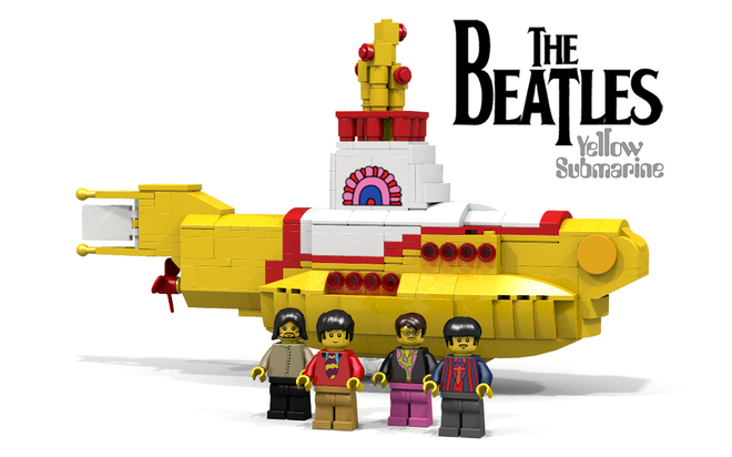 lego ideas the beatles yellow submarines