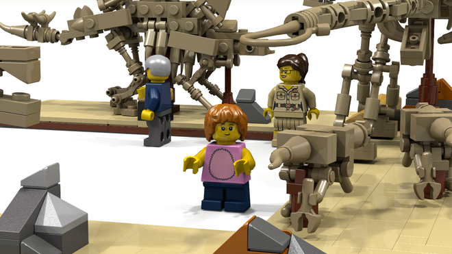lego ideas Fossil Museum2