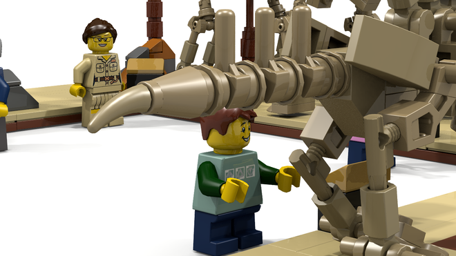 lego ideas Fossil Museum3