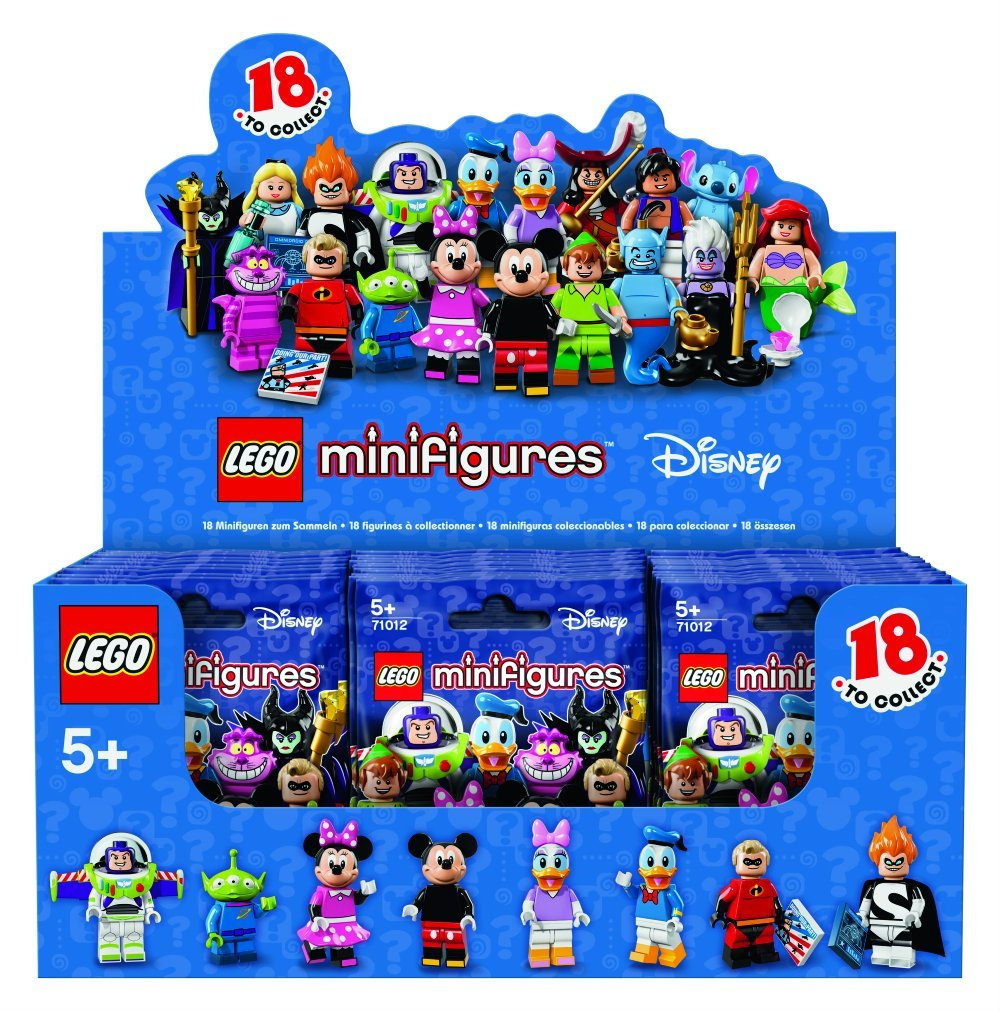 LEGO Disney Collectible Minifigures (71013)