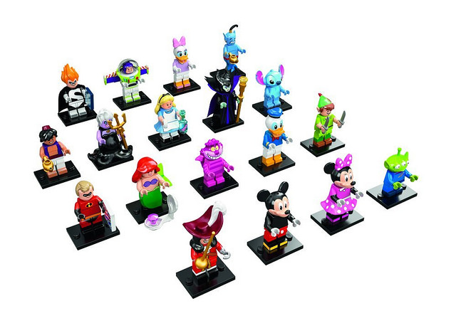 LEGO Disney Collectible Minifigures (71015)