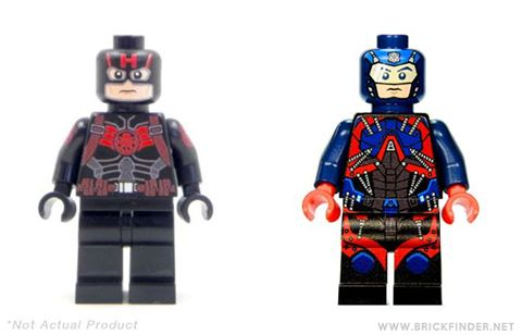 SDCC2016 DC Marvel minifigures