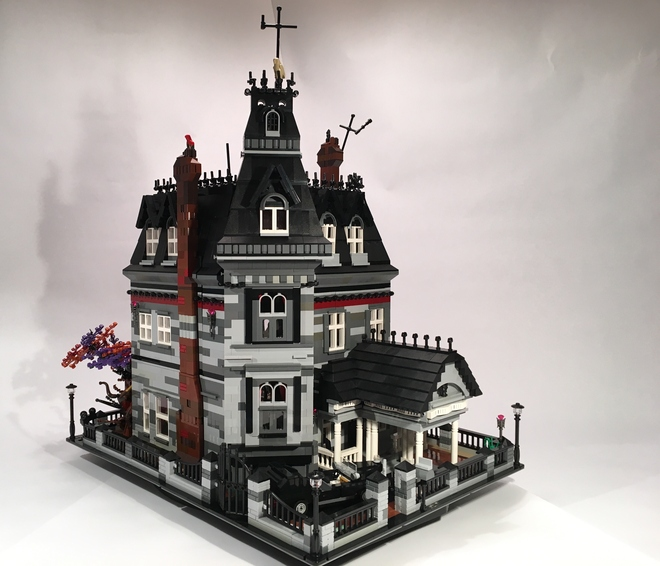 The Addams Family Mansion