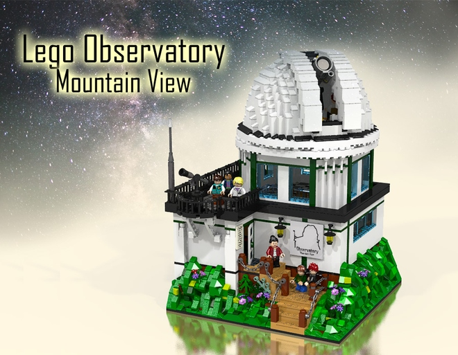 The LEGO Observatory – Mountain View