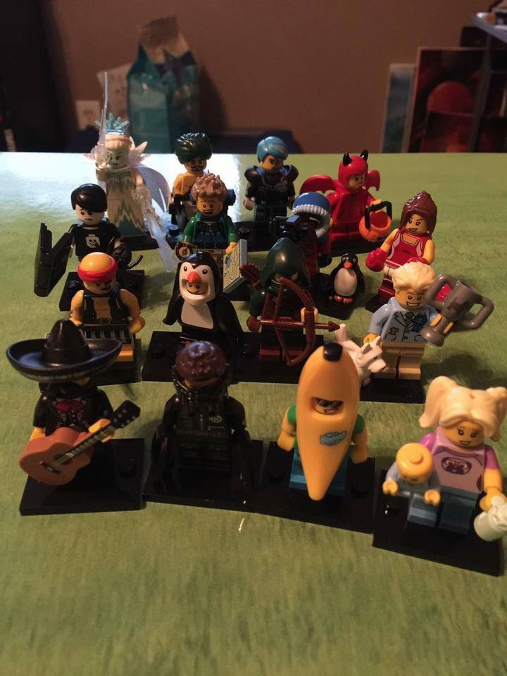 lego minifigures 16 real