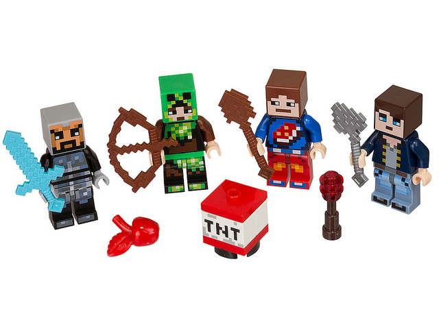 LEGO Minecraft Skin Pack (853610) and (853610)-2