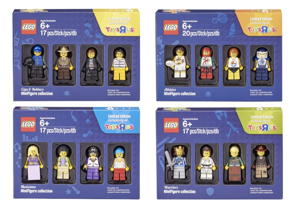 Toys 'R' Us Bricktober Minifigure Packs