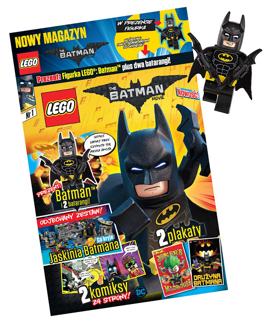 magazyn lego batman movie