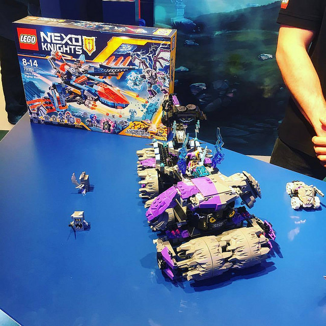nuremberg toy fair Nexo knights