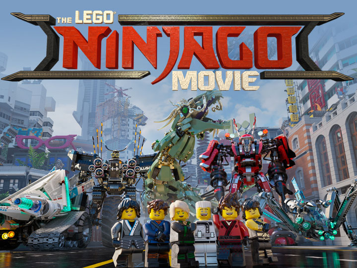 lego ninjago movie główne