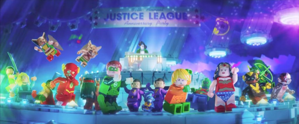 Justice League Anniversary Party