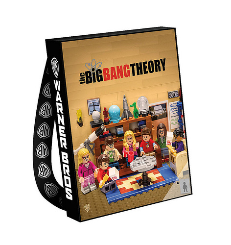 LEGO Ideas The Big Bang Theory bag