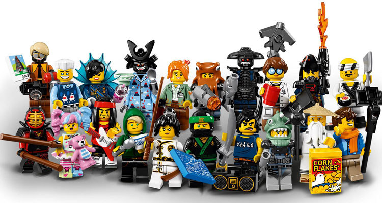 LEGO Ninjago Movie Collectible Minifigures (71019)
